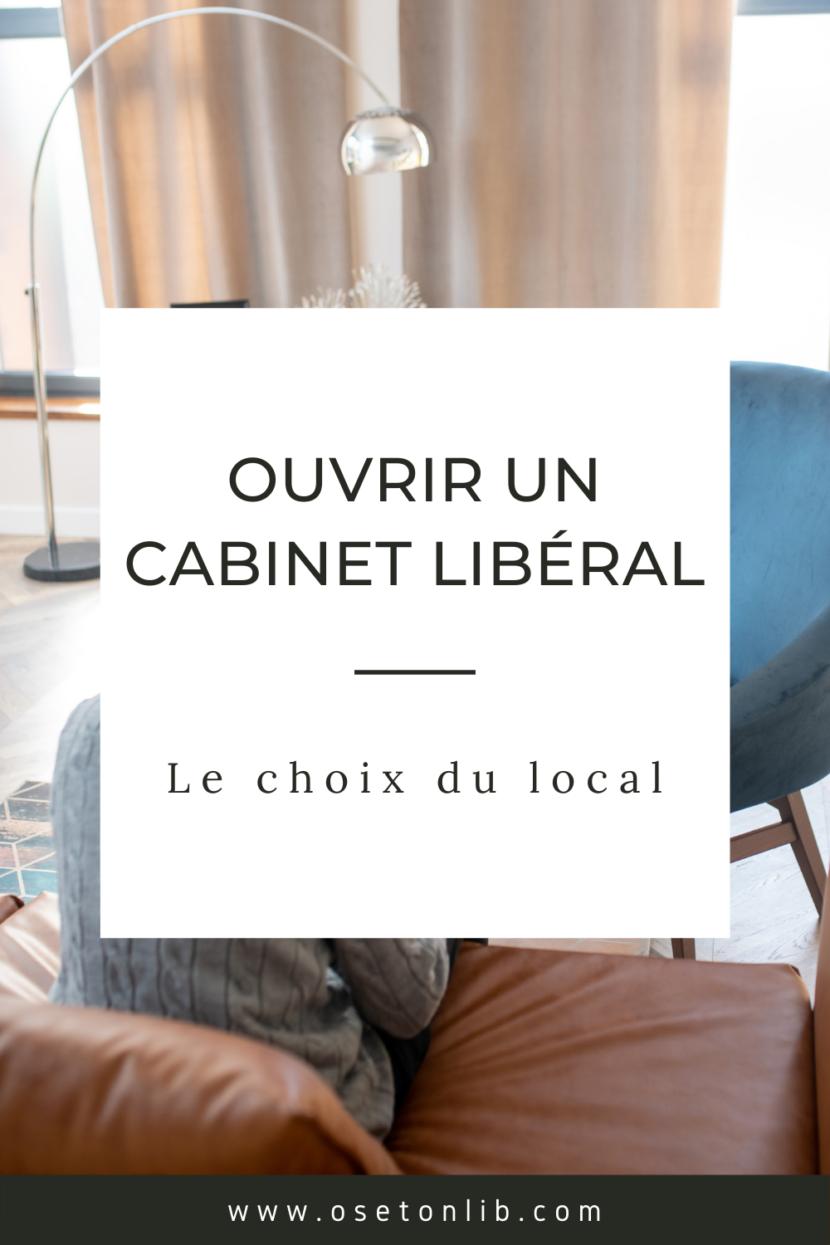 Ouvrir un cabinet de psychologue libéral choix du local