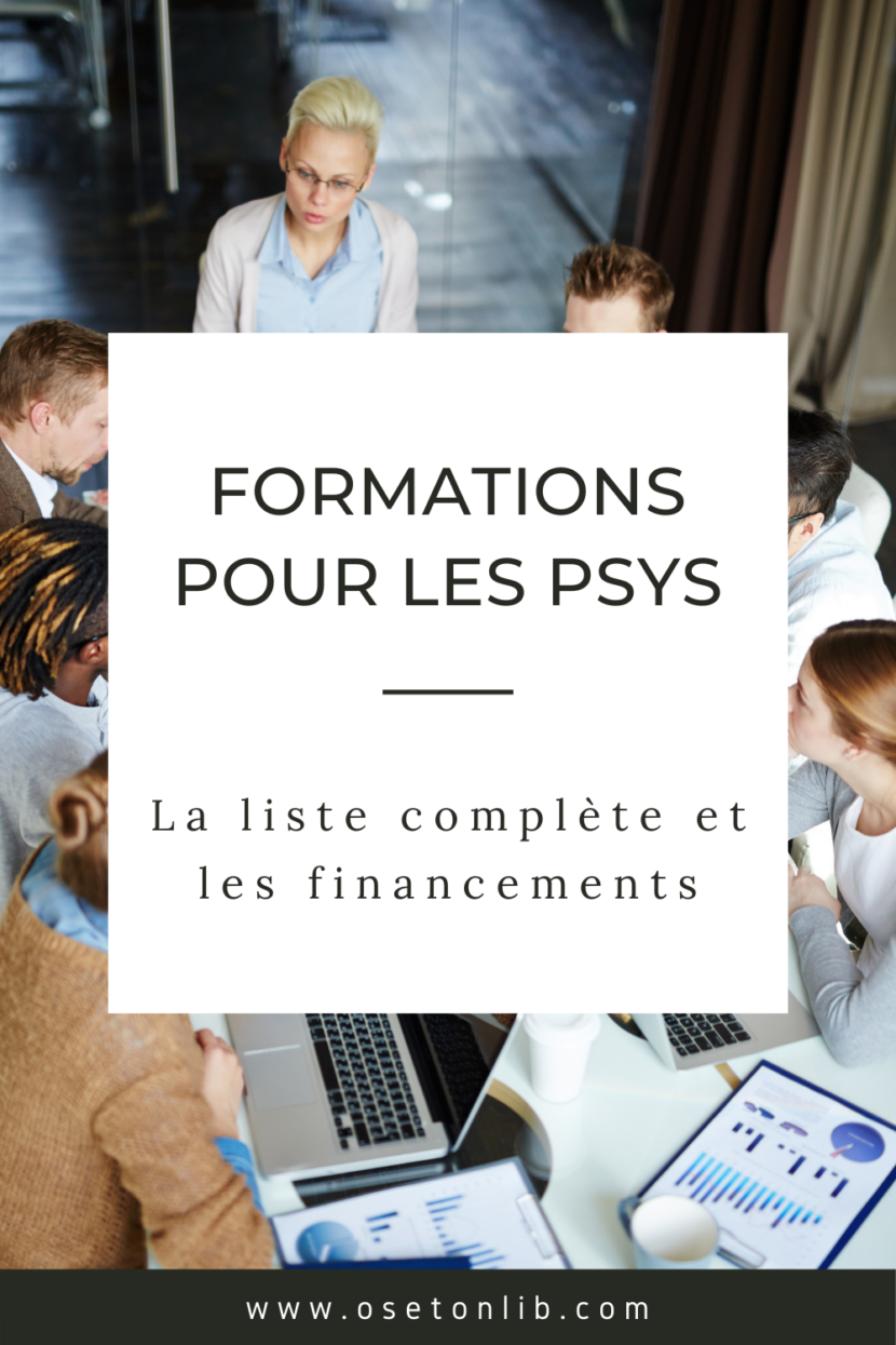 liste des formations pour les psychologues