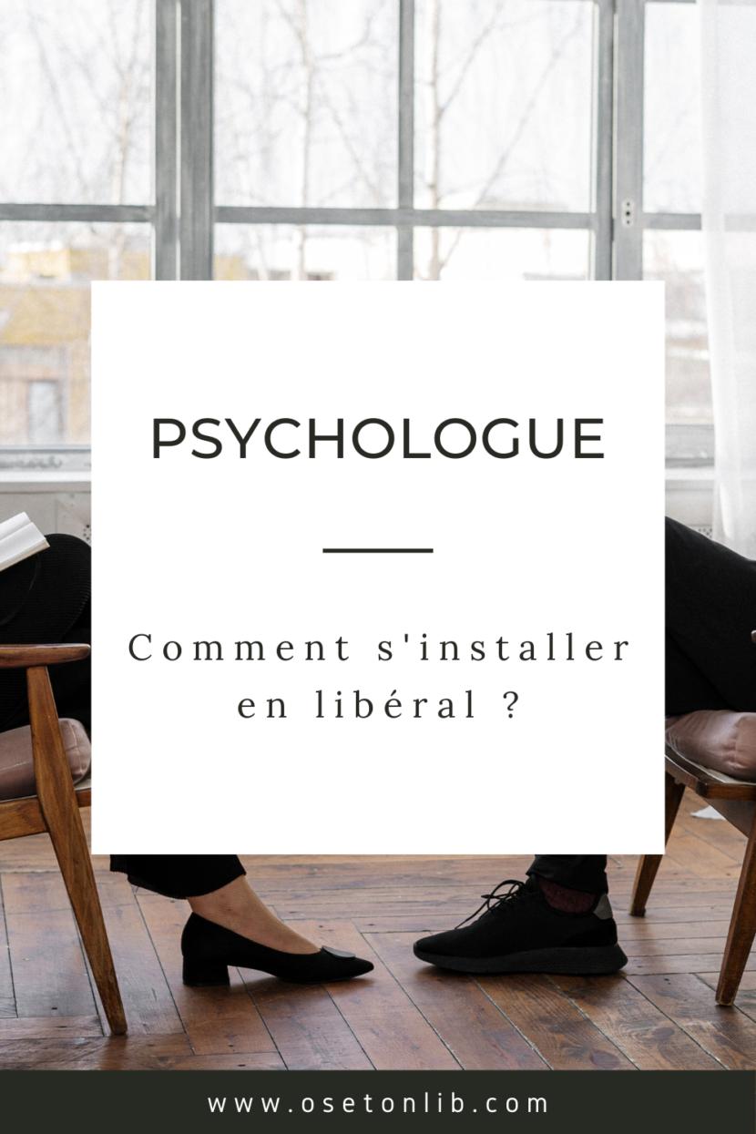 comment s'installer en libéral psychologue